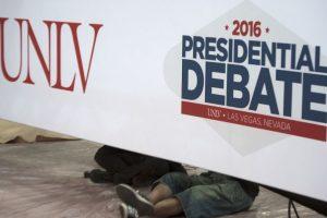 Ambos candidatos debatirán seis temas durante 90 minutos Foto:AFP. Imagen Por: