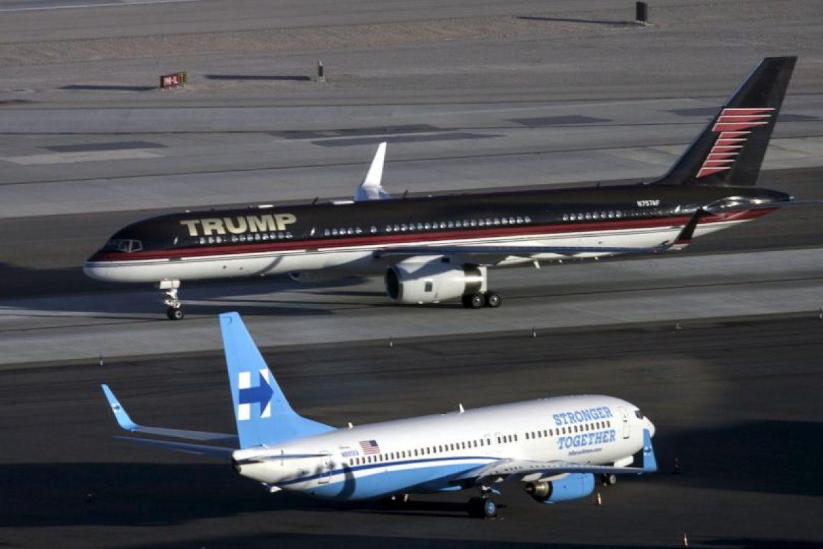 Ambos candidatos ya se encuentran en Las Vegas, Nevada, sede del último debate presidencial Foto:AFP. Imagen Por: