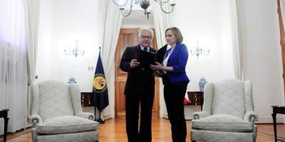 Goic entrega a ministro Fernández propuesta para mejorar coordinación entre Gobierno y Nueva Mayoría