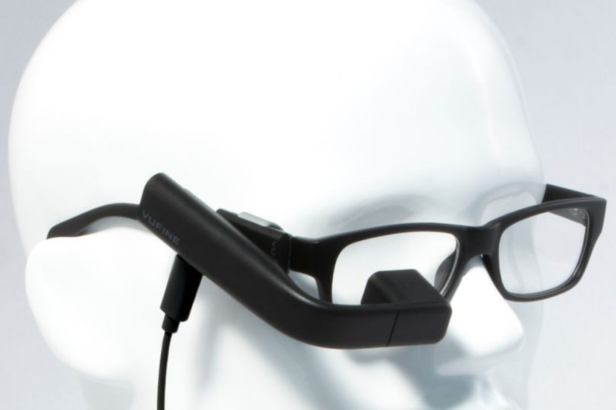 """¿Alguna vez han pensado cómo sería llevar el monitor de su computadora o la pantalla de su celular directo en los lentes? """"Vufine"""" lo hace realidad. Foto:Vufine. Imagen Por:"""