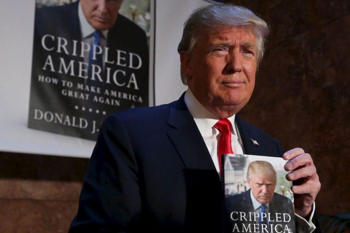 "Durante la campaña presidencial, Donald Trump presentó ""Crippled America"". Imagen Por:"