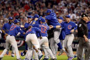 Chicago Cubs venció a Cleveland Indians y ganó la Serie Mundial Foto:Getty Images. Imagen Por: