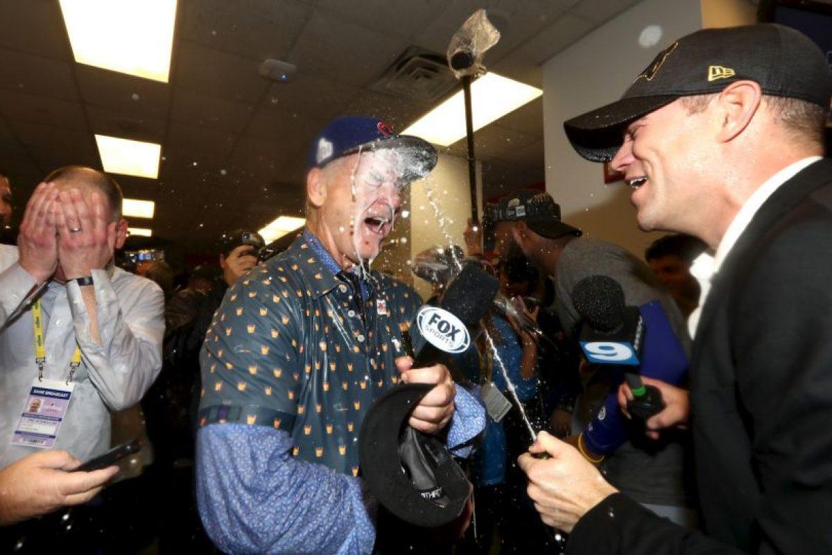 Bill Murray festejó con todo Foto:Getty Images. Imagen Por: