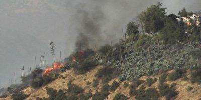 Incendios forestales en Cerro Calán y Alto Macul fueron sofocados