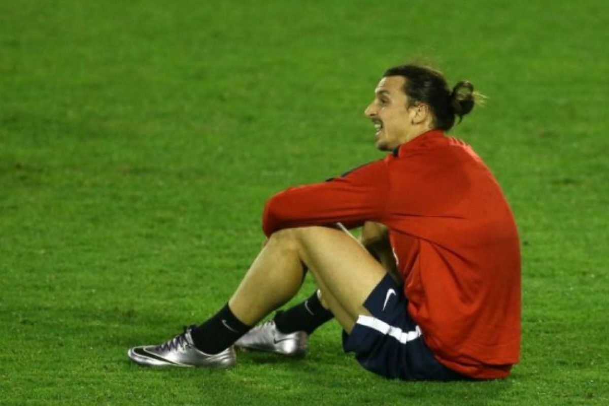Zlatan Ibrahimovic – Pizza Foto: Getty Images. Imagen Por: