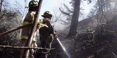 Valparaíso y Santiago afectados por serie de incendios forestales