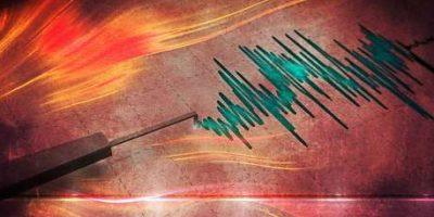 La insólita reacción de señora durante despacho en vivo tras fuerte temblor