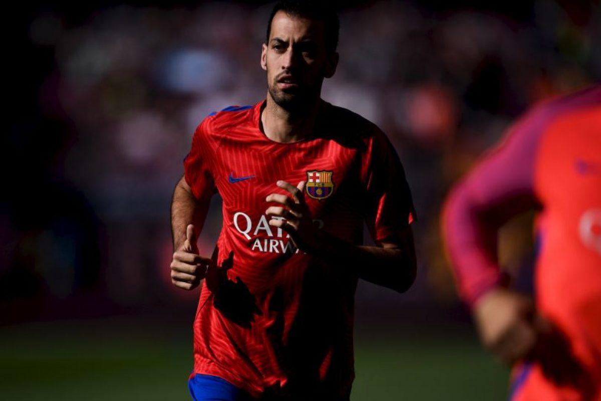 Sergio Busquets (Barcelona) Foto:Getty Images. Imagen Por: