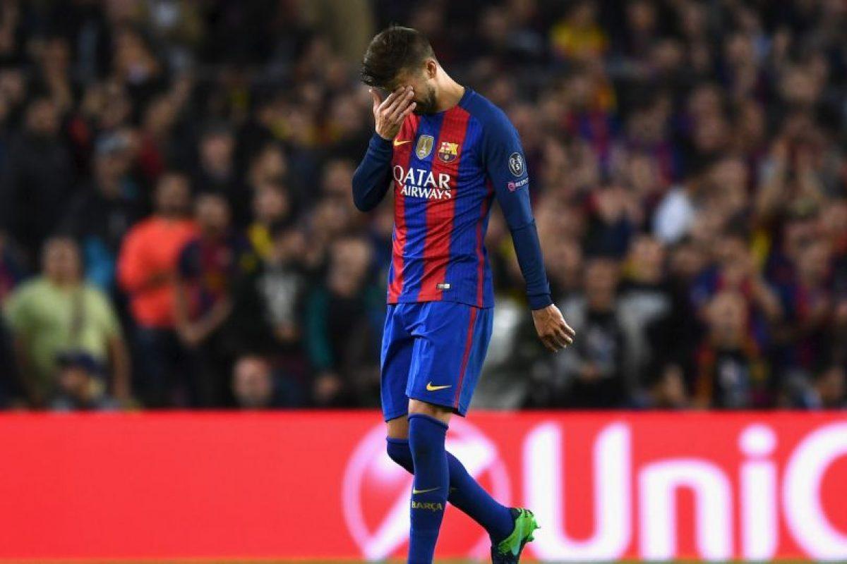 Gerard Piqué (Barcelona) Foto:Getty Images. Imagen Por: