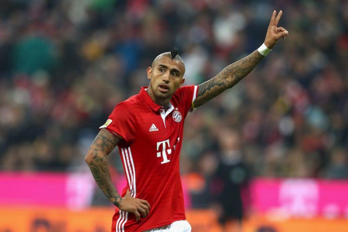 Arturo Vidal (Bayern Munich) Foto:Getty Images. Imagen Por: