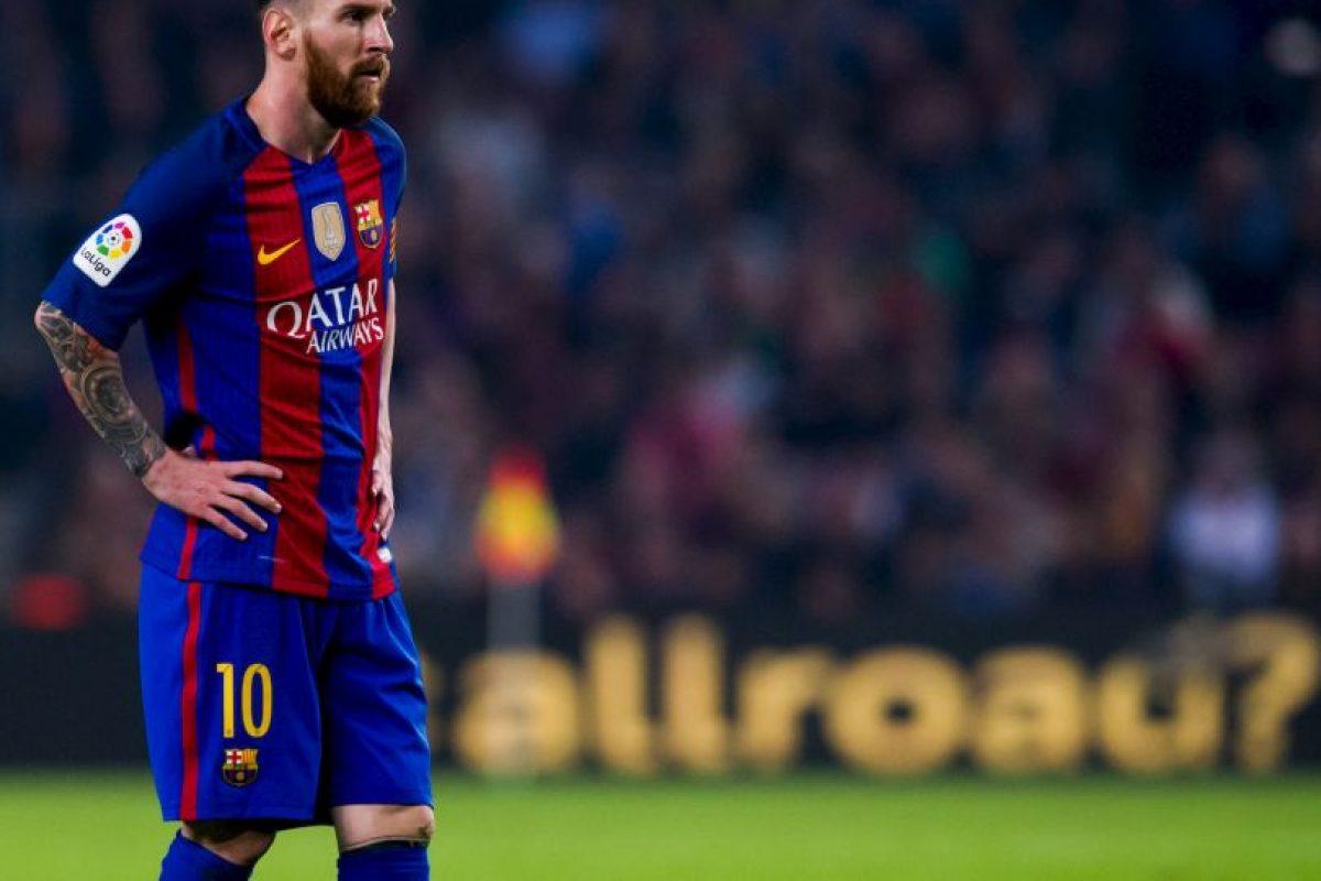 Lionel Messi (Barcelona) Foto:Getty Images. Imagen Por: