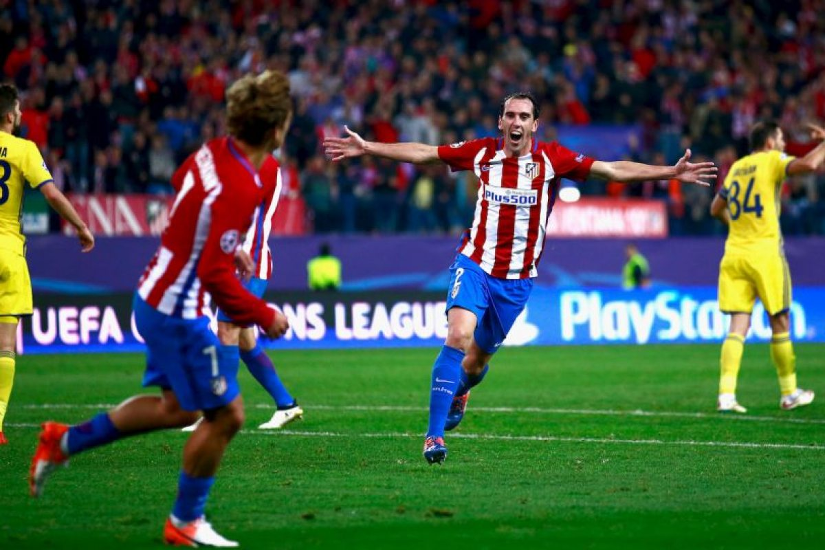 Diego Godín (Atlético de Madrid Foto:Getty Images. Imagen Por: