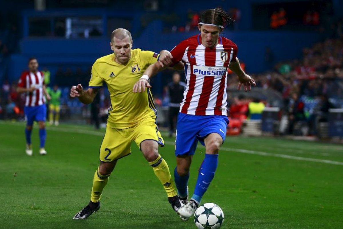 Filipe Luis (Atlético de Madrid) Foto:Getty Images. Imagen Por: