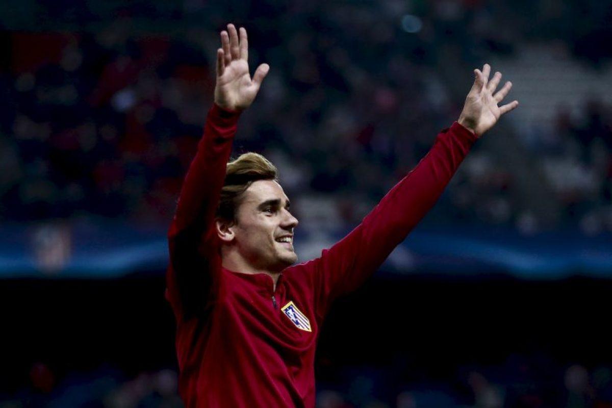 Antoine Griezmann (Atlético de Madrid) Foto:Getty Images. Imagen Por: