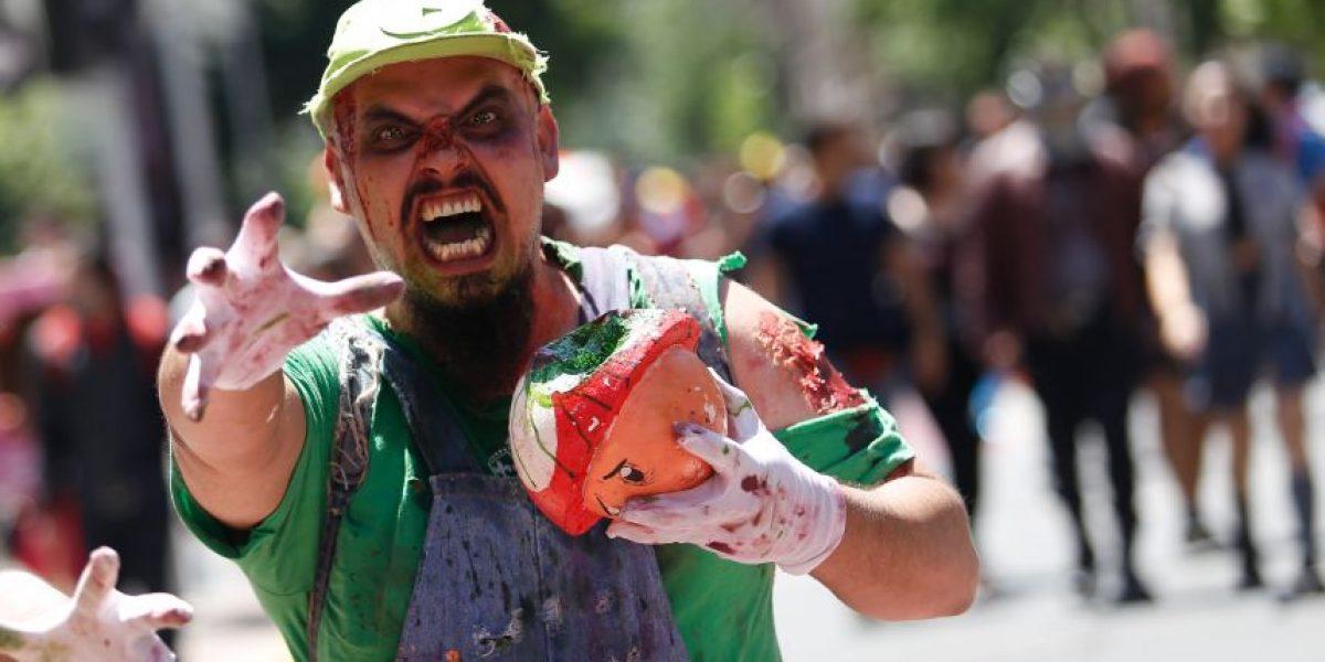 Así fue la Zombie Walk 2016