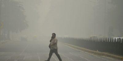 Cierran escuelas en India por tres días debido a contaminación del aire