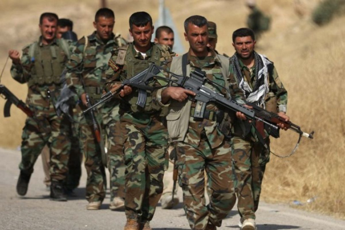 Tropas kurdas Foto:AFP. Imagen Por: