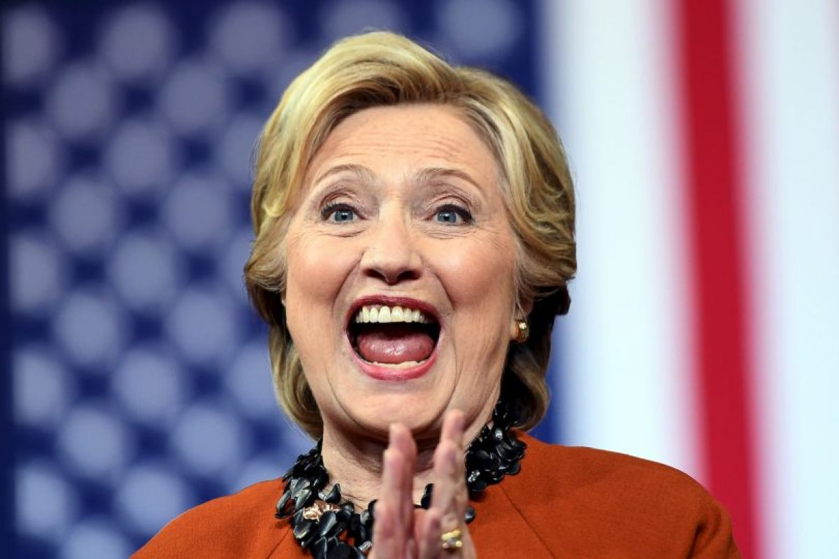 Hillary Clinton lleva una ligera ventaja en las encuestas Foto:AFP. Imagen Por: