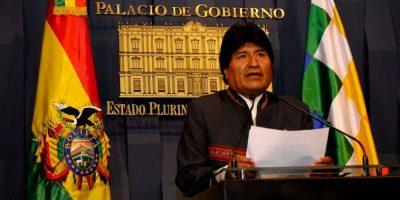 Evo Morales acusa a Chile de realizar