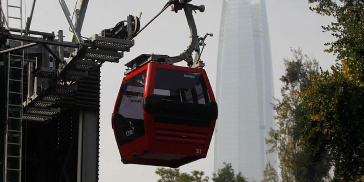 Así serán los nuevos teleféricos que comenzarían a funcionar la próxima semana en cerro San Cristóbal