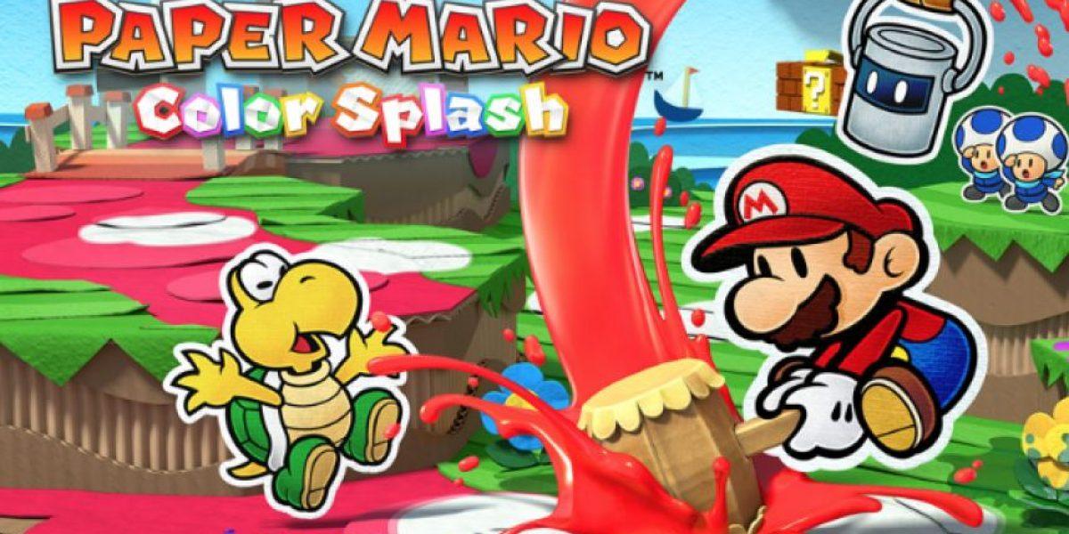 Paper Mario Color Splash: El último juego para WiiU