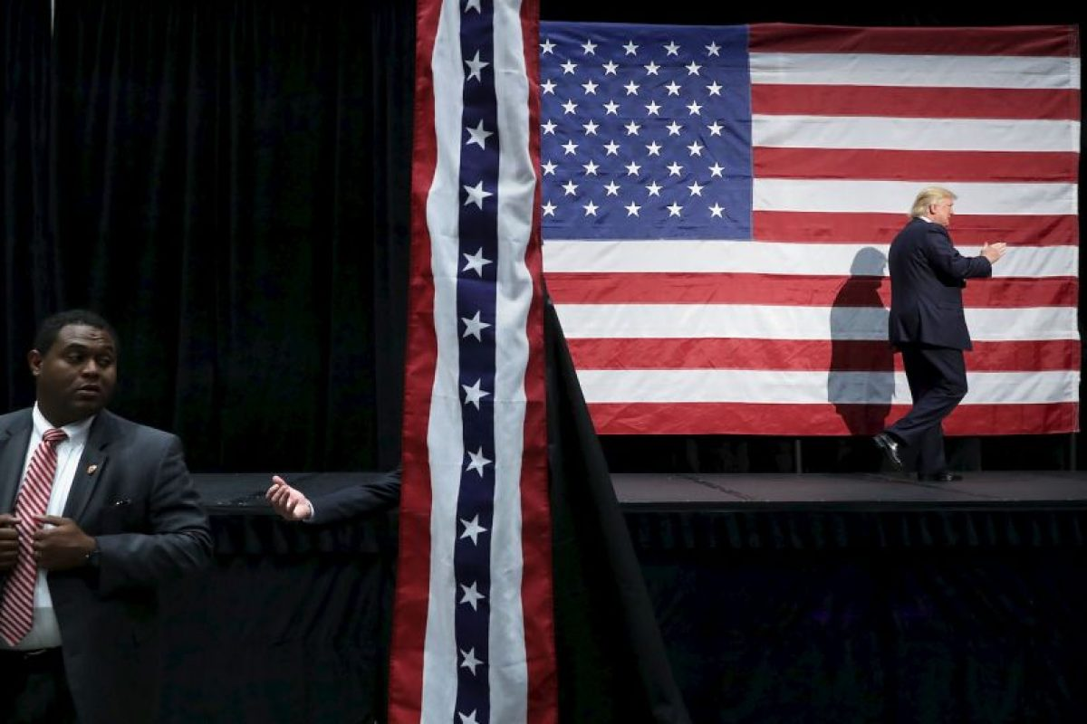 Todo está listo en Estados Unidos para la elección presidencial Foto:Getty Images. Imagen Por: