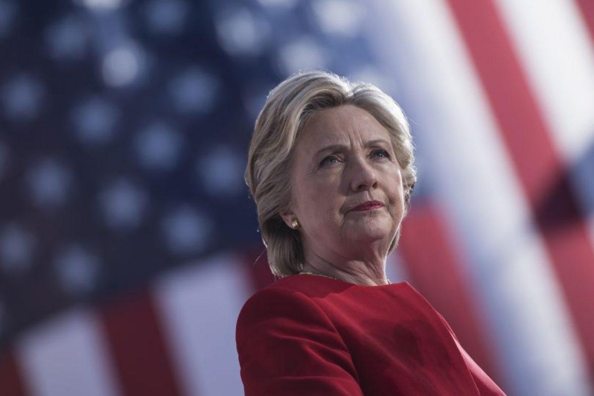 La demócrata Clinton recibió en 71,63 % de los votos, frente a los 24,16 % que recibió el candidato republicano, Donald Trump. Foto:AFP. Imagen Por: