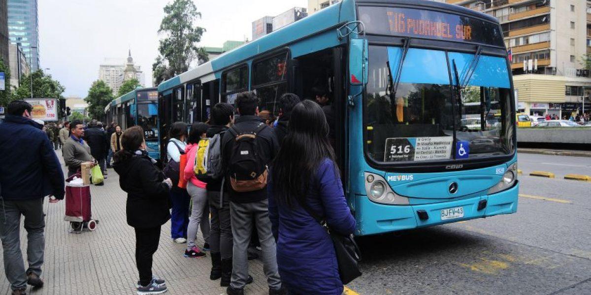 Metbus, STP Santiago y Vule: los  operadores con la mejor calidad de servicio del Transantiago
