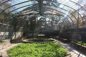 En Chile de a poco se han ido generando más huertos comunitarios. Hoy incluso hay algunas plantaciones en lugares públicos como este invernadero en el Parque de Quinta Normal. Foto:Santiago Urbano. Imagen Por: