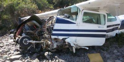 Hermano de Julio Ponce Lerou sufre accidente en avioneta en Pirque