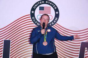 La tiradora olímpica Kim Rhode Foto:Getty Images. Imagen Por: