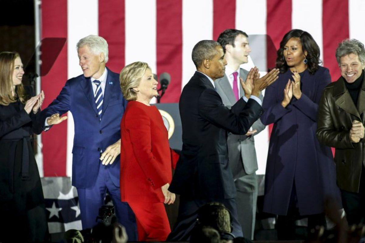 La primera dama nunca ha dado a conocer si tiene intenciones de contender Foto:AFP. Imagen Por:
