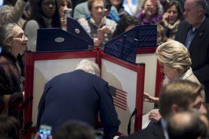 Votó Hillary Clinton Foto:AFP. Imagen Por: