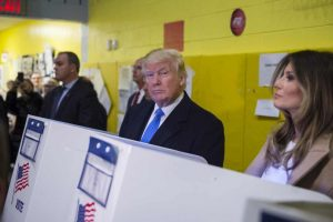 Votó Donald Trump Foto:AFP. Imagen Por: