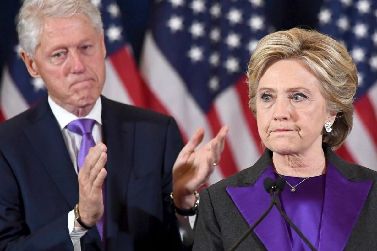 Hillary Clinton aceptó su derrota esta mañana Foto:AFP. Imagen Por: