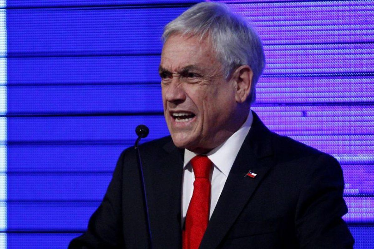 """Piñera reconoció además preocupación por el plan económico del presidente electo de EEUU, porque """"puede significar un déficit fiscal y un aumento en la deuda americana gigantesca"""". Foto:Aton. Imagen Por:"""