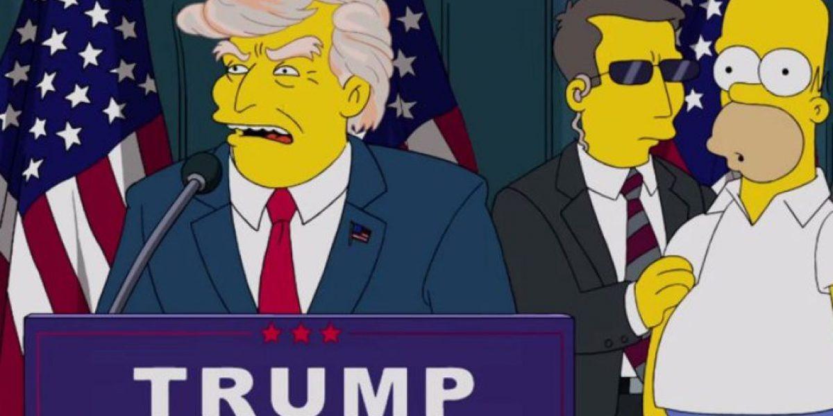 El año en que Los Simpson predijeron que Donald Trump sería presidente de Estados Unidos