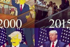 Las redes sociales y los medios de Estados Unidos se llenaron de la imagen del capítulo y todos recordaron el episodio en el que Los Simpson una vez más predijeron el futuro Foto:Reproducción. Imagen Por: