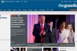 Trump compareció ante sus seguidores en un hotel de Nueva York tras confirmarse que los resultados le daban la victoria en las elecciones presidenciales, frente a la aspirante demócrata, Hillary Clinton. Foto:Reproducción. Imagen Por: