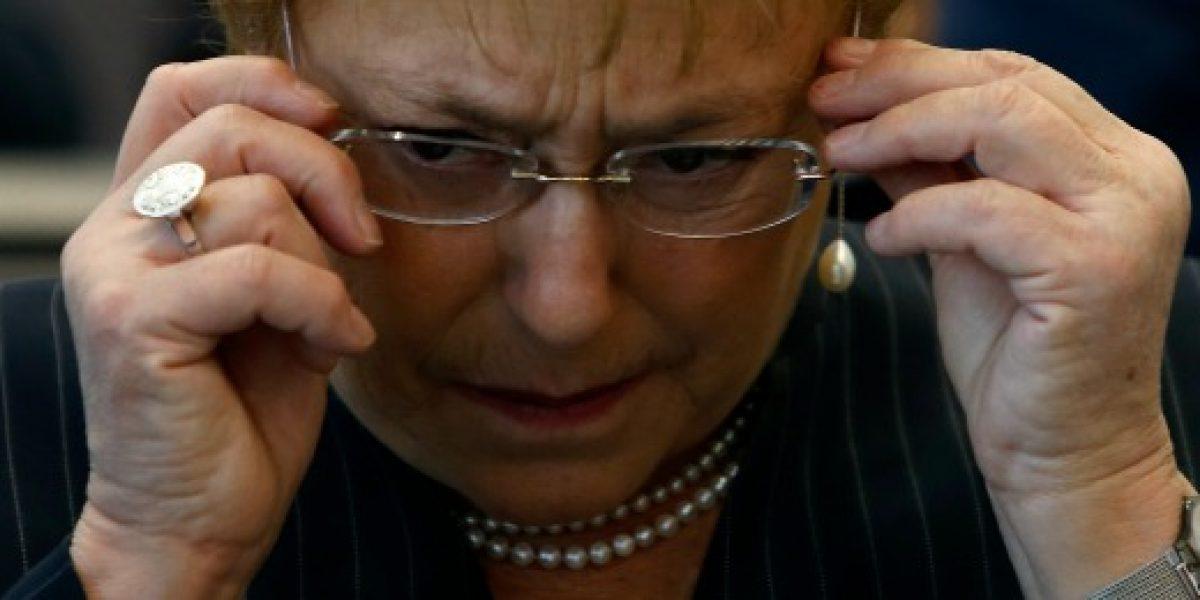 """Bachelet por fallido reajuste al sector público: """"No podemos hacer más"""""""