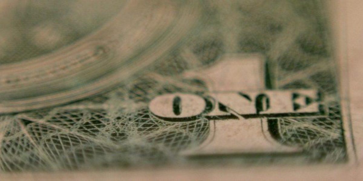 Dólar termina la jornada con alza de $2,4