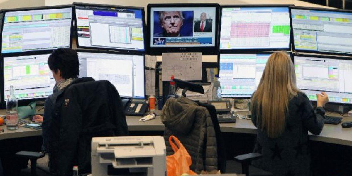 A contracorriente de la tendencia mundial: Bolsa de Moscú en alza tras triunfo de Trump