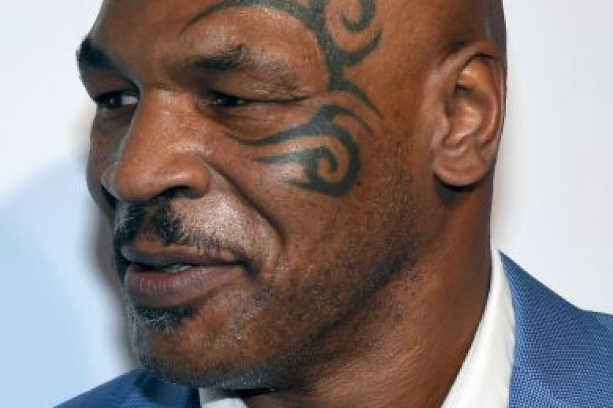 Mike Tyson Foto: Getty Images. Imagen Por: