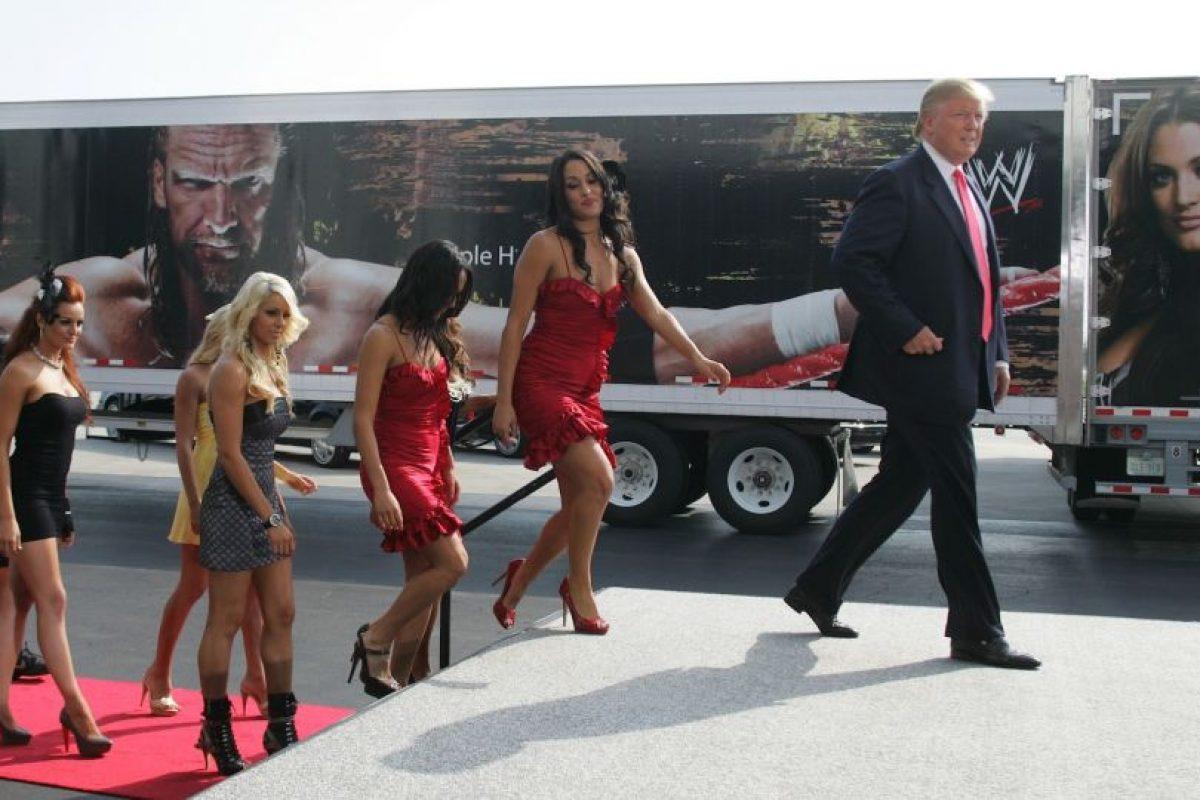 Los mejores momentos de Donald Trump en WWE Foto:Getty Images. Imagen Por: