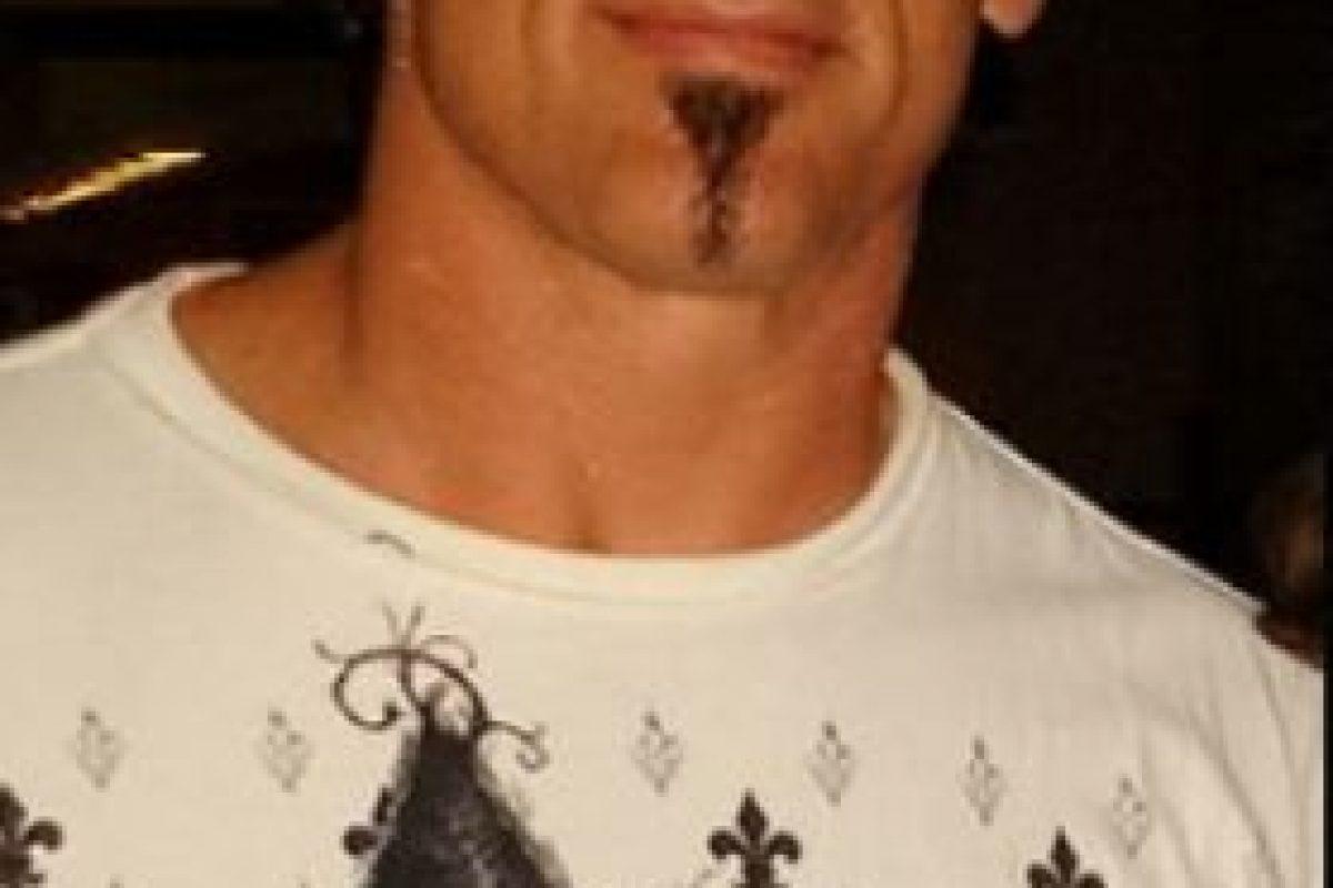 """Así se ve el """"Ícono"""" sin maquillaje Foto:WWE. Imagen Por:"""