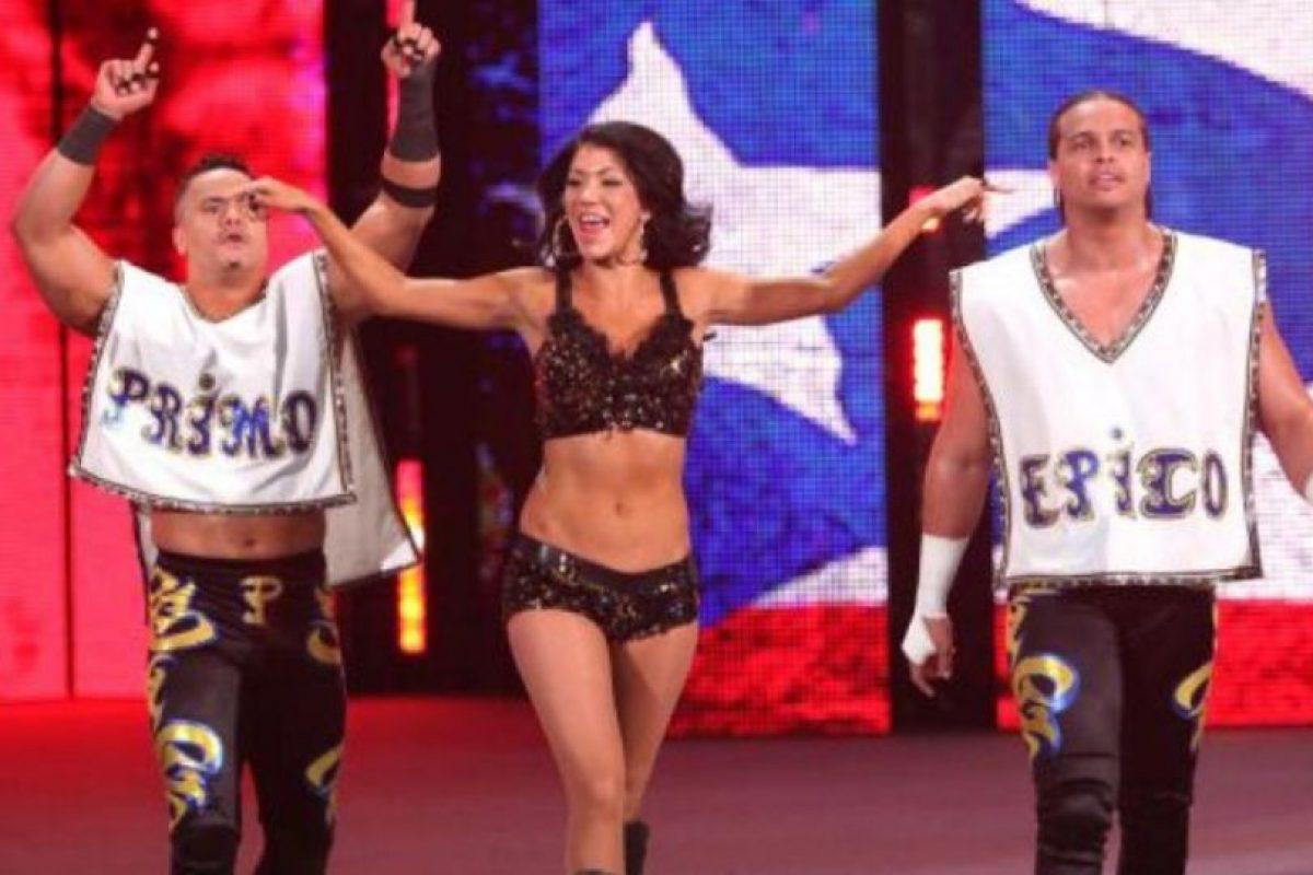 Primo tomo el papel de Diego y Epico era Fernando Foto:WWE. Imagen Por: