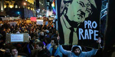 EEUU enfrenta ola de protestas contra Donald Trump la noche posterior a las elecciones