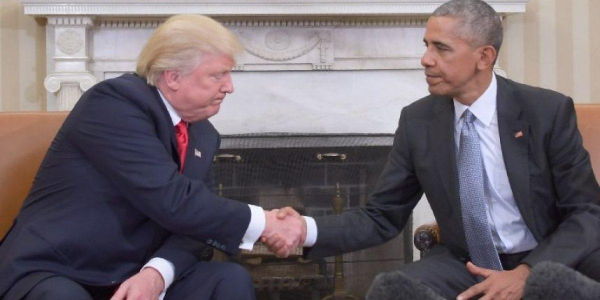 Obama y Trump mantuvieron una