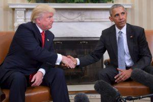 Trump y Obama se reunieron en la Casa Blanca. Imagen Por: