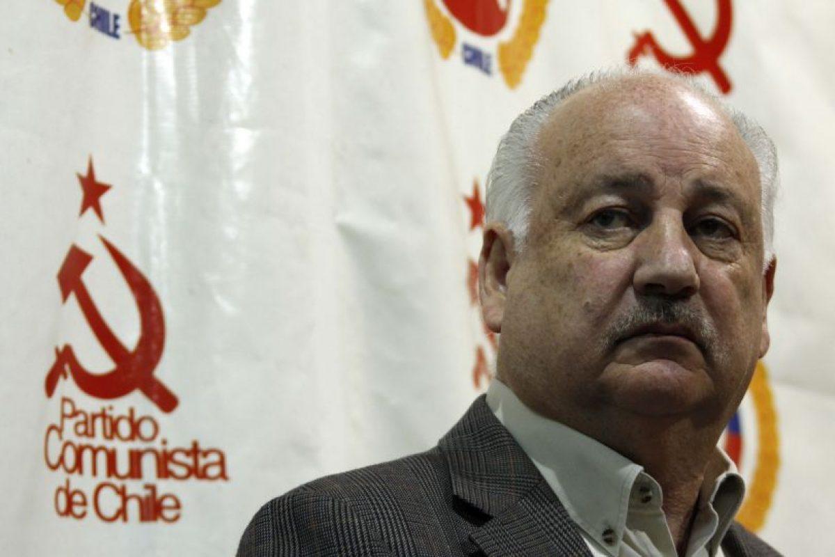 El presidente del Partido Comunista dijo que este conflicto era un tema de partidos y que no se debía involucrar al Gobierno en el problema. Foto:Agencia UNO. Imagen Por: